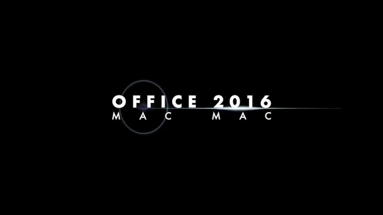 OFFICE 2016 MAC INSTALAR KG F