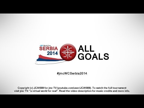 jmc World Cup Serbia 2014 | All Goals | Group A