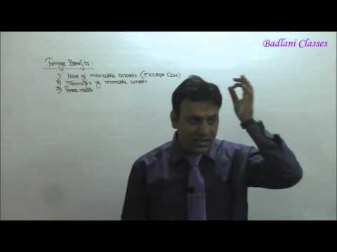 Income Tax : AY 16-17 : Ch 2 : Salary : Lecture  6