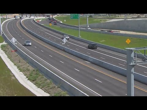 New Lanes Opening Along Interstate-35W In Fort Worth