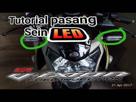 TUTORIAL PASANG SEIN LED NEW VIXION (How to assembly Led turn Light)