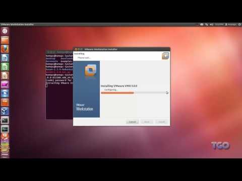 How to install VMware Workstation 9 on Ubuntu 12.04
