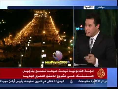 مذيع الجزيرة يفضح البرادعي.حملة ازالة صور البنات
