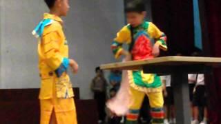 儿童节表演:戏凤