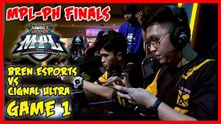 Grand Finals! Bren Esports vs Cignal Ultra | MPL PH Season 2 Finals