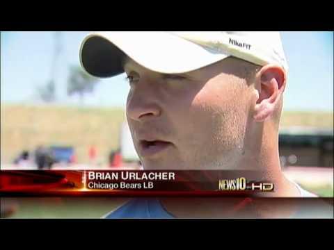 Bears linebacker Lance Briggs, Elk Grove native, holds Sacramento kids football camp - News10.net