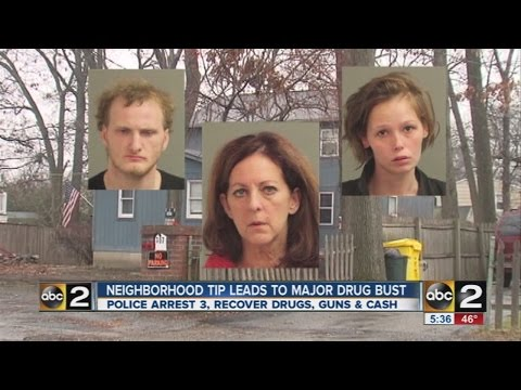Neighborhood search leads to Glen Burnie drug bust