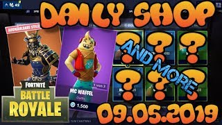 Fortnite New Item Shop 09.05.2019 Fortnite ITEM SHOP Daily Shop May 09th New Skins
