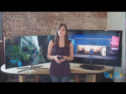 LED TV vs. LCD TV Video Review, LCD vs. LED