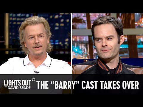 "Download Bill Hader and the Cast of ""Barry"" Take Over - Lights Out with David Spade Mp4 baru"