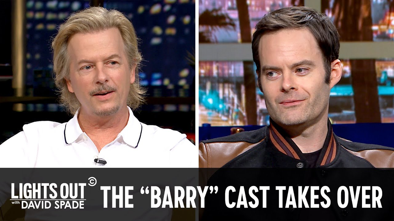 Bill Hader and the Cast of