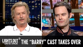 "Bill Hader and the Cast of ""Barry"" Take Over - Lights Out with David Spade"