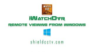 How to download iWatch DVR for Windows
