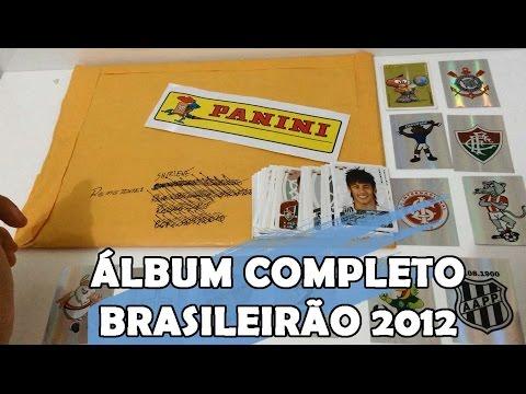 Vídeo 34 - Álbum COMPLETO - Campeonato Brasileiro 2012