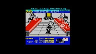 Stir Crazy Featuring Bobo (1990) 128k AY music version Walkthrough + Review, ZX Spectrum