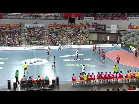 Egypt vs South Korea Handball friendly match - 15/8/2015