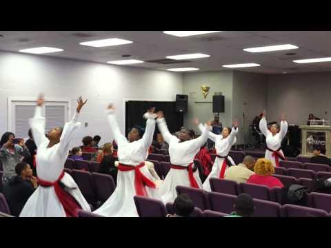 Hosanna - Kirk Franklin Praise Dance @ IWC