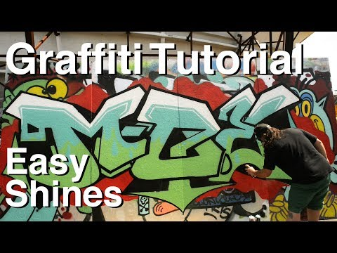 ArtPrimo.com: Easy Shines Graffiti Tutorial