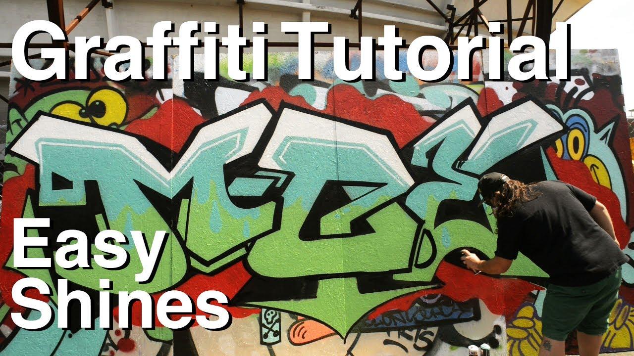 Artprimo Com Easy Shines Graffiti Tutorial