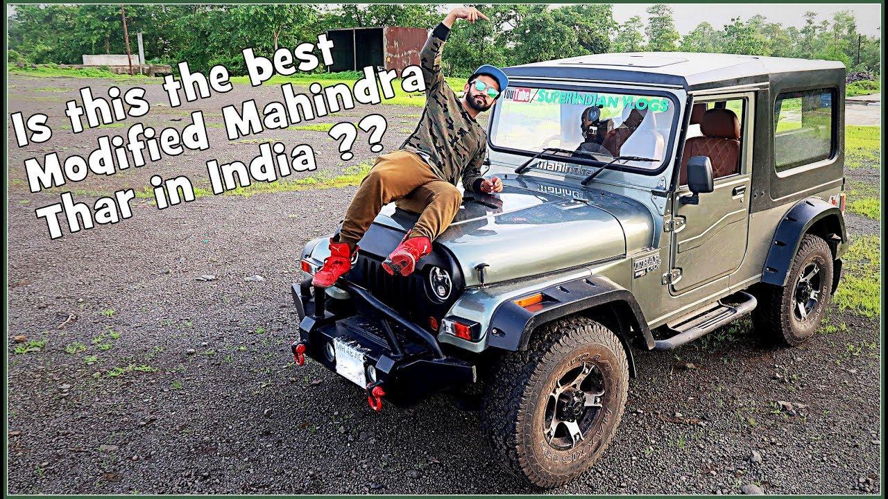 Mahindra Thar Modified Hardtop Www Pixshark Com Images