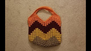 Part 1 - The Granny Stitch Bag Crochet Tutorial!