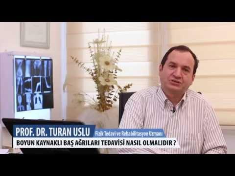 Boyun Kaynaklı Baş Ağrıları Tedavileri Nasıl Olmalı Dır? - Prof.Dr.Turan Uslu
