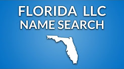 Florida LLC Name Search