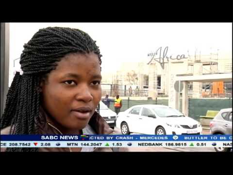 Commuters And Drivers Using The Taxi Rank At The Mall Of Africa Fear For Their Lives