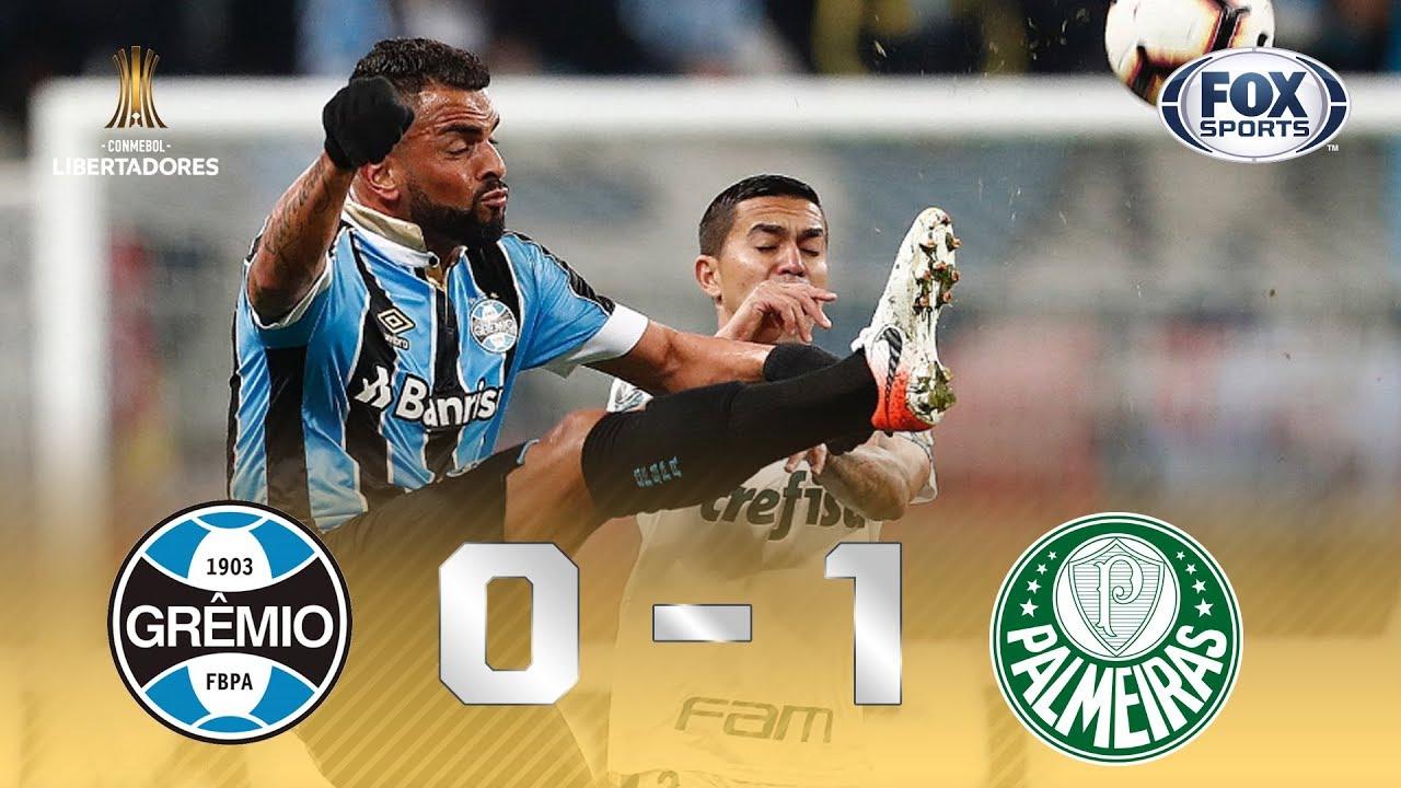 FOX SPORTS BRASIL - VITÓRIA DO VERDÃO! Veja os melhores momentos de Grêmio 0x1 Palmeiras, pela Liber