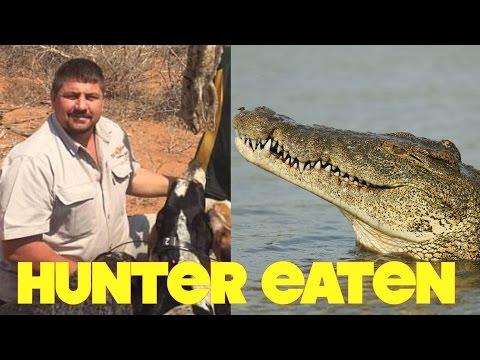 Crocodile Eats Pro Big Game Hunter