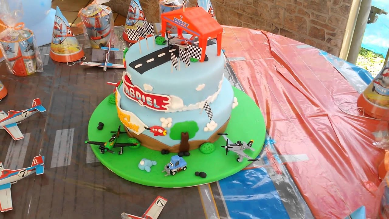 Disney Planes Birthday Cake Bizcocho De Planes Youtube