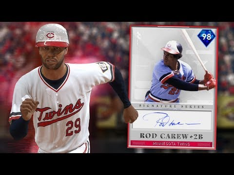 ROD CAREW JOINS THE GOD SQUAD ON MLB THE SHOW 19 RANKED SEASONS DIAMOND DYNASTY!