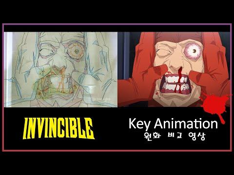 INVINCIBLE EP01 Key animation video – 인빈시블 원화 교차 영상 – the Guardians' Death – Amazon Prime Original