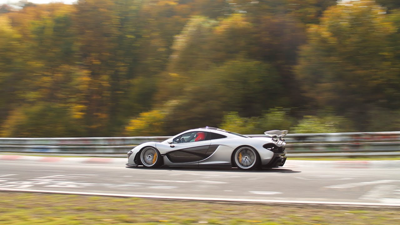mclaren p1 on the nürburgring! amazing flyby's! (1080p hd) - youtube