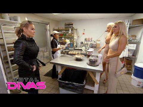 Lana takes Maryse and Natalya wedding cake tasting: Total Divas, Jan. 11, 2017