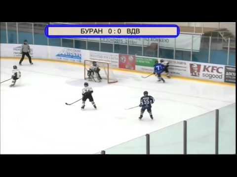 Буран 2004 (Воронеж) - Атлант 2004 (Мытищи) третий период 30.01.17