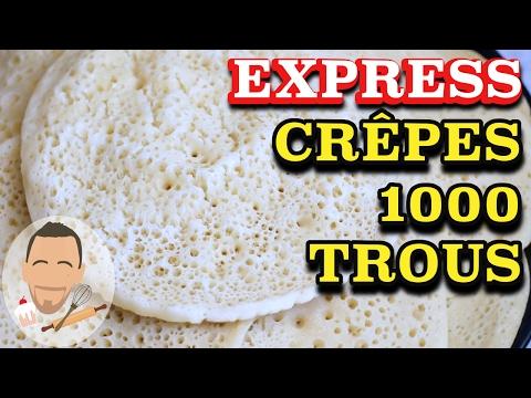 recette-crepe-mille-trous-/-baghrir-★-recette-ramadan-sans-oeuf