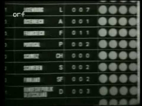 Eurovision 1967 - Voting Part 2/3