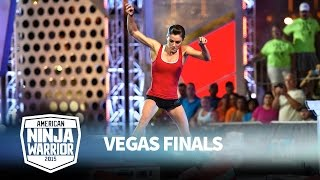 Kacy Catanzaro at the Vegas Finals: Stage 1 | American Ninja Warrior
