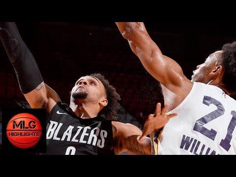 Los Angeles Lakers vs Portland Trail Blazers Championship Game / July 16 / 2018 NBA Summer League