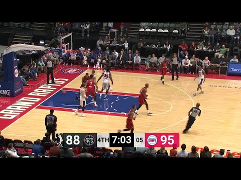 Edy Tavares Posts 13 points & 10 rebounds vs. Grand Rapid Drive