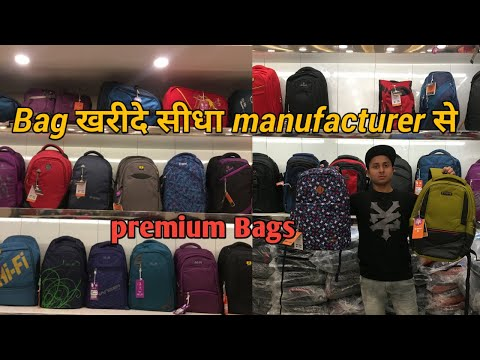 Cheapest branded bags wholesale/retail azad market Delhi