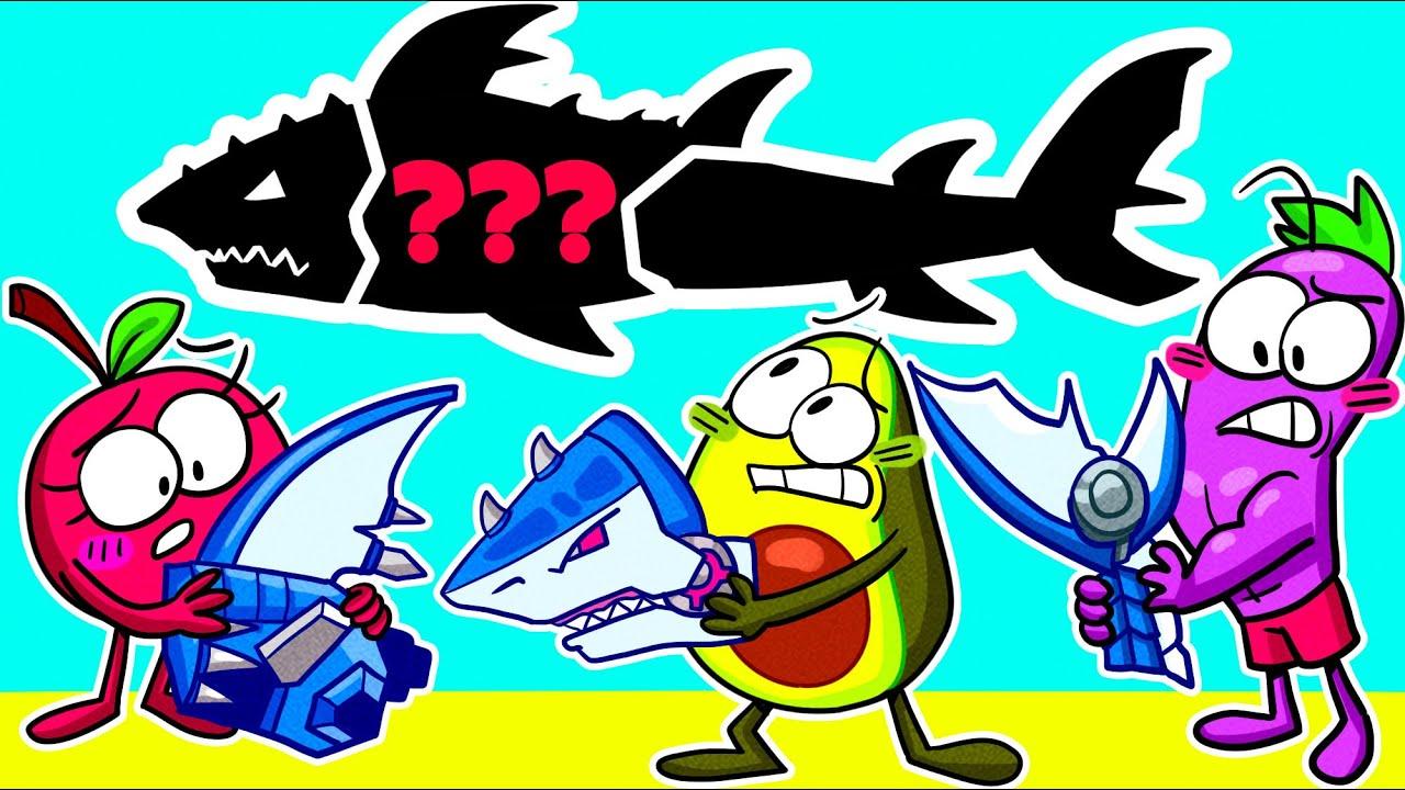 CRAZY SHARK VS ME || WORST Summer Job EVER || Avocado Couple