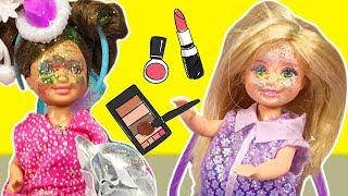 Barbie ve Ailesi Bölüm 142 - Ceren Makyaj Yapıyor #ÇizgiFilm tadında #BarbieOyunları
