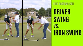 Gambar cover GOLF: Driver Swing Vs. Iron Swing (Differences)