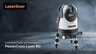 Kreuzlinien-Laser - Innovation - PowerCross-Laser 8G - 032.090L