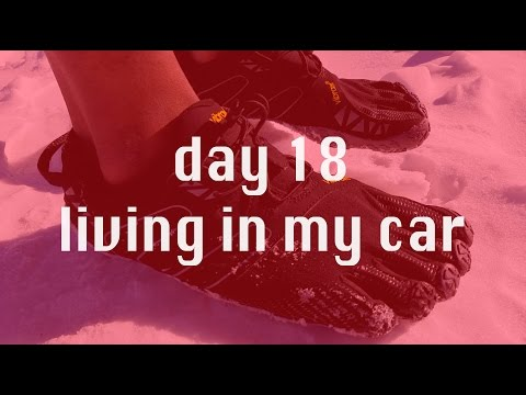 I'm barefoot now...18 days homeless in Alaska