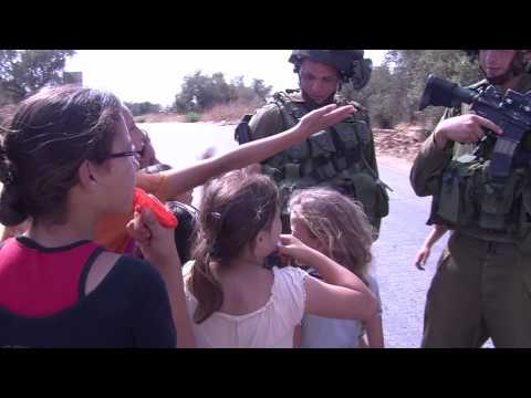 Soldiers vs. Children in Nabi Saleh, 7-2-10