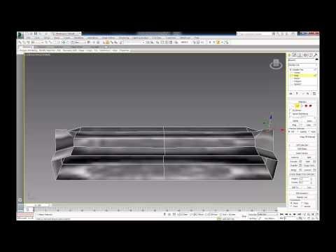 3Ds Max - моделирование кованых элементов. Editable Poly - моделирование проката и лент. 3 Часть.
