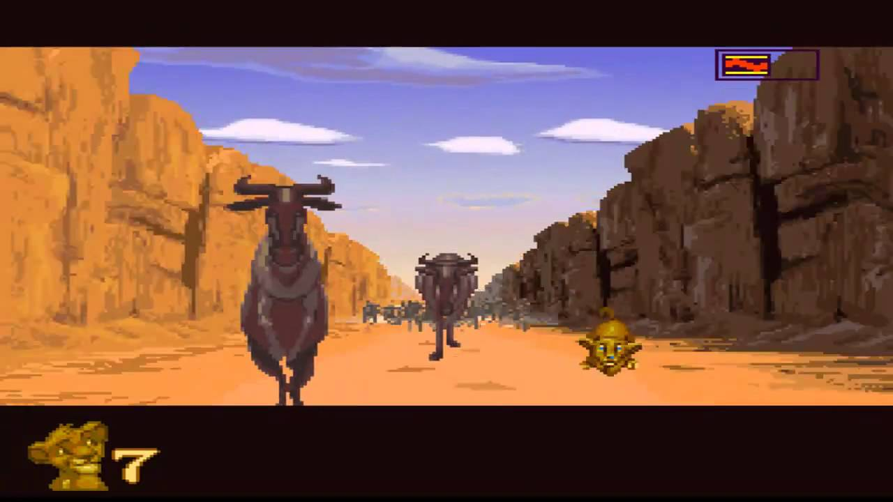 Let S Play The Lion King Snes Part 3 Stuck Between A